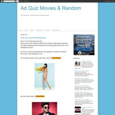Ad Quiz Movies & Random