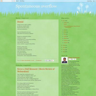 Spontaneous overflow