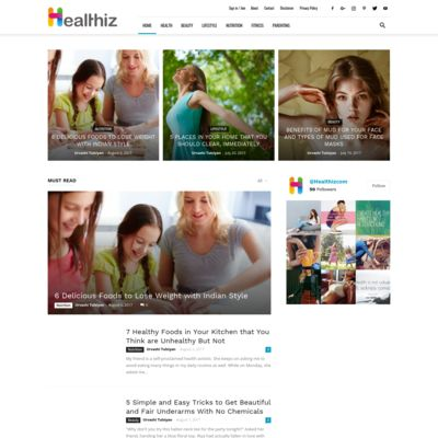 Healthiz - Health is Happiness