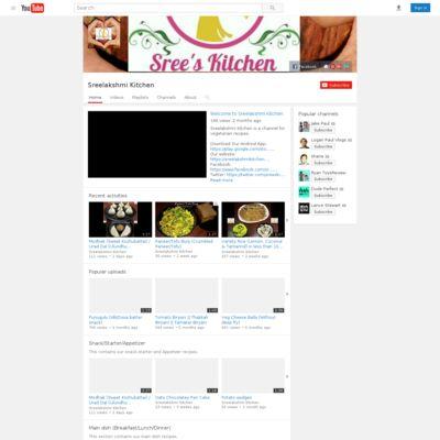 Sreelakshmi Kitchen (www.sreelakshmikitchen.com)
