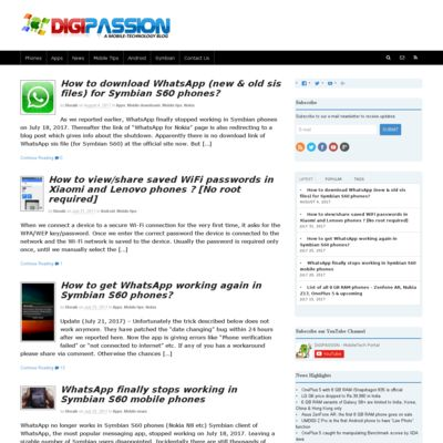 DiGiPASSION - A Mobile-Technology Blog