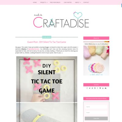 Made in Craftadise - Crochet, Craft, Home Decor, DIY and Organizing Projects