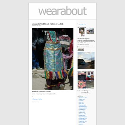 wearabout | Street style, fashion, and talking to people