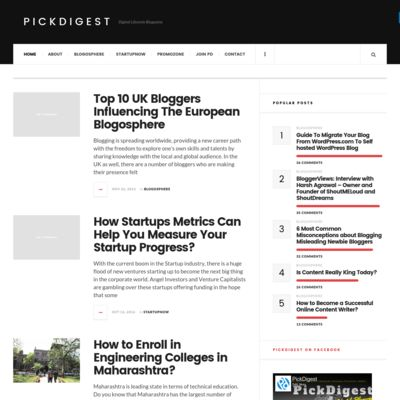 PickDigest - A Digital Lifestyle Blogazine