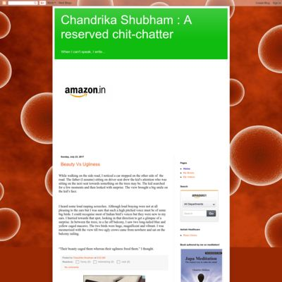Chandrika Shubham : A reserved chit-chatter