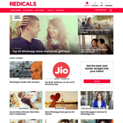 Redicals.com - Where Reading Is Fun!