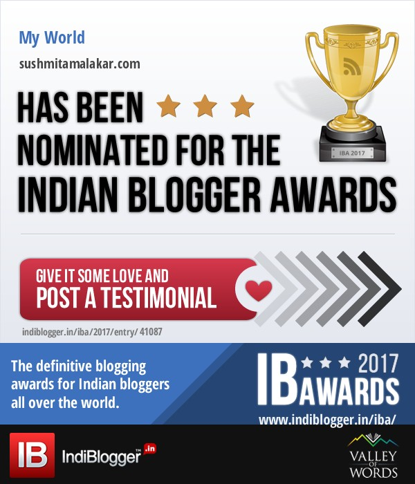 The Indian Blogger Awards 2017