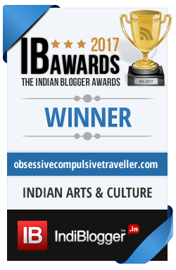 Winner of The Indian Blogger Awards 2017 - Society, Good Living & India
